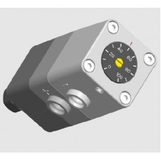 WATER PROVING ADJUSTABLE DIFFERENTIAL PRESSURE SWITCH 0.06 to 0.6 Bar (MAX SYS PRESS=16 BAR)