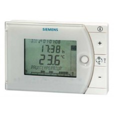 REV24 BATTERY POWERED DOMESTIC HEATING & COOLING THERMOSTAT c/w 7 day TIME SWITCH